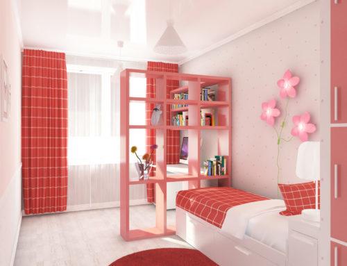 Дизайн интерьера спальни для девочки в городе Белгороде