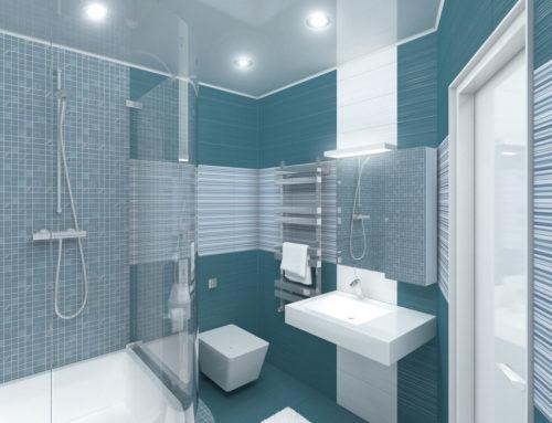 Дизайн интерьера ванной в городе Белгороде