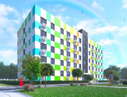 Проект многоквартирного жилого дома по улице Мира в посёлке Вейделевка Белгородской области