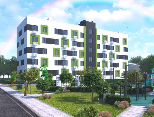 Проект многоквартирного дома в посёлке Вейделевка Белгородской области (вариант 2)