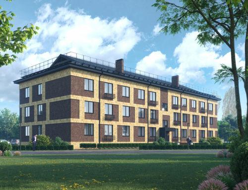 Проект многоквартирного жилого дома по адресу: Белгородская область, посёлок Прохоровка, ул. Льва Толстого