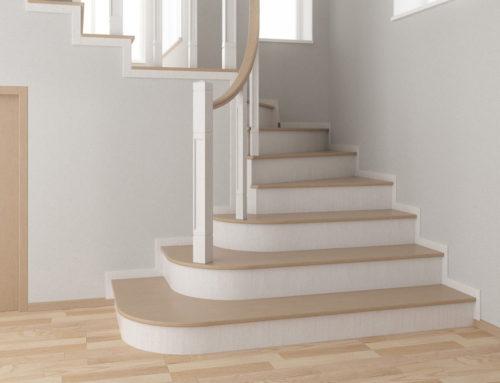 Дизайн лестницы в г. Белгороде