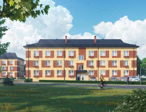 Проект многоквартирного жилого дома в посёлке Прохоровка (2 очередь)